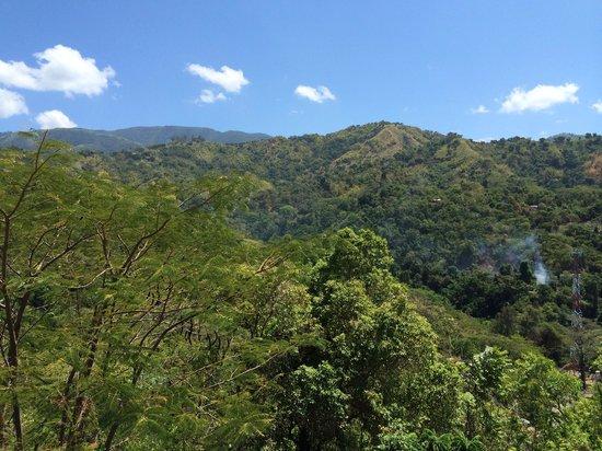 Neita's Nest: Kingston from the hills