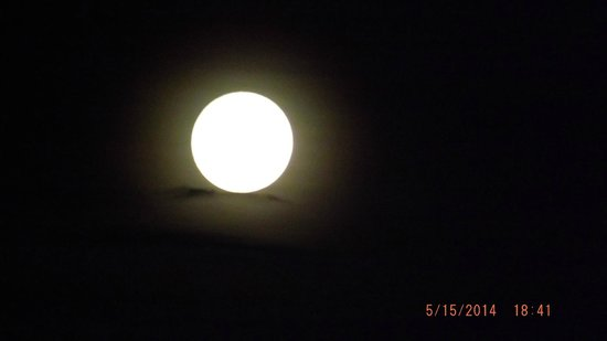 Quest Frankston: The full moon in May 2014 - from balcony