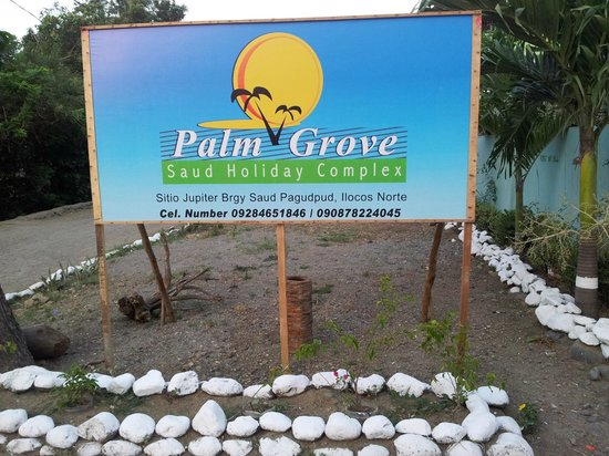 Palm Grove Saud Holiday Complex: Sign Board