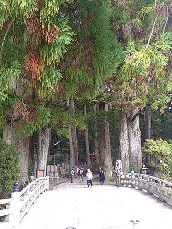 高野山 奥之院, 奥ノ院の入口