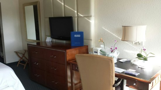 Travelodge Florida City/Homestead/Everglades: Nice flat screen TV