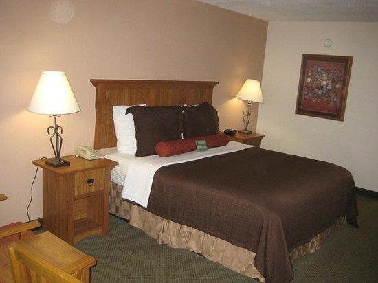 BEST WESTERN PLUS Saddleback Inn & Conference Center : Comfortable bedding