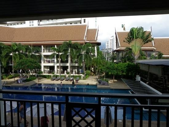 Deevana Patong Resort & Spa : View from our room at Deevana