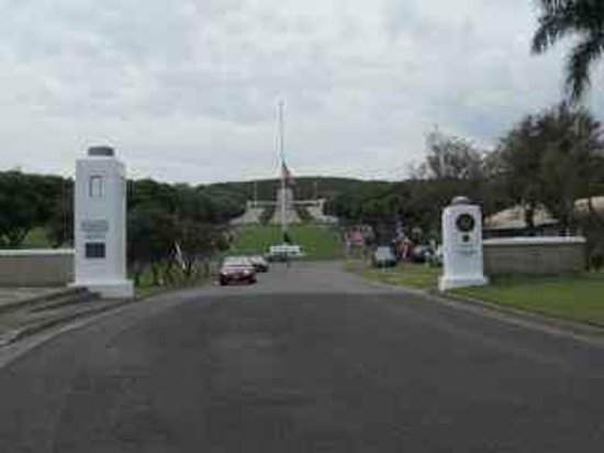 National Memorial Cemetery of the Pacific: Entry Gate