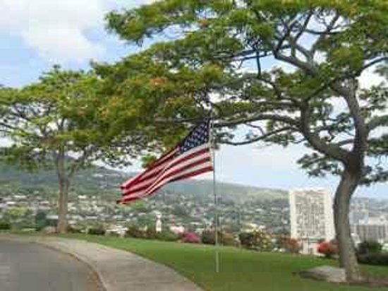 National Memorial Cemetery of the Pacific: Views