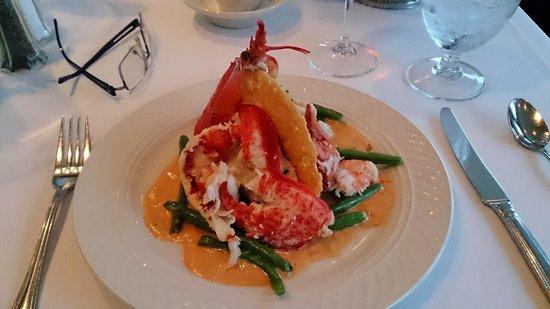 Reading Room Restaurant : Lobster