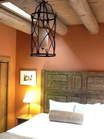 Las Palomas Inn Santa Fe: Bedroom