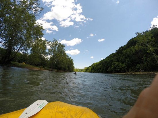 The Downriver Canoe Company: On the river