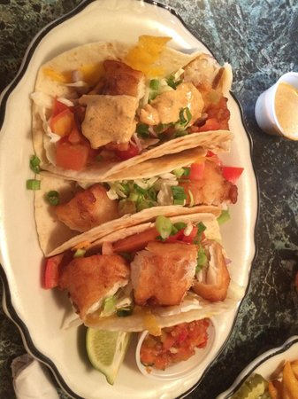 Fish tacos picture of connie 39 s restaurant sandpoint for Fish taco restaurant