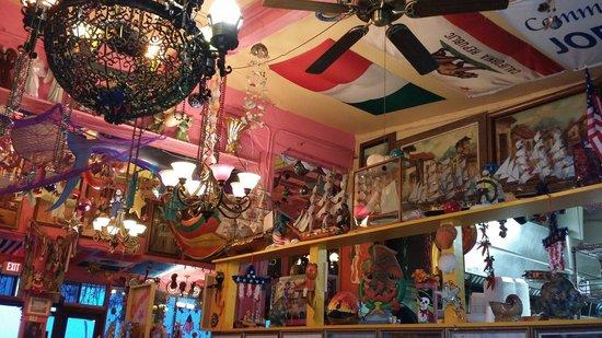 Olamendi's Mexican Restaurant: Flea Market interior