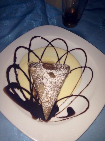 Ocean Coral & Turquesa : Crepe from the romantic dinner at the crepe restaurant. So good!