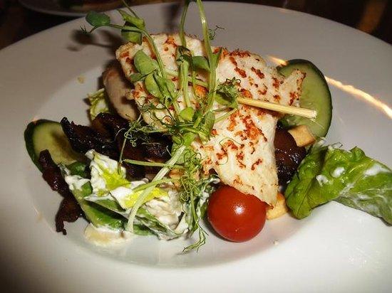Good Morning+ Helsingborg: Chicken caesar salad
