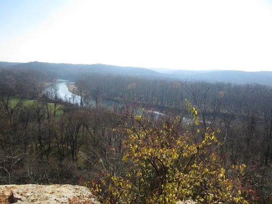 Castlewood State Park: overlook