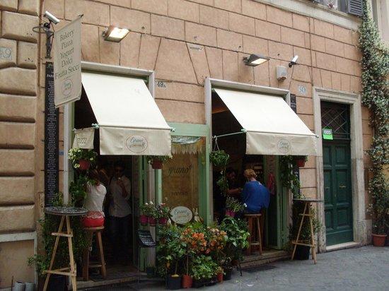 Grano frutta e farina: Nice informal restaurant
