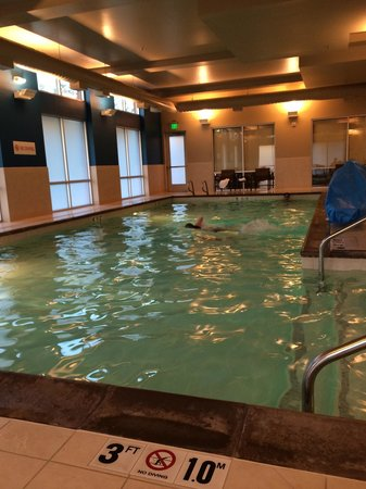 Hyatt Place Portland Airport / Cascade Station: Pool...heated