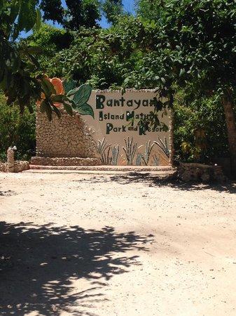 Bantayan Island Nature Park and Resort: Entrance
