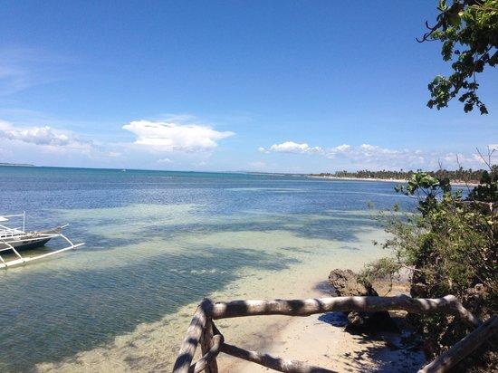 Bantayan Island Nature Park and Resort: Beach View