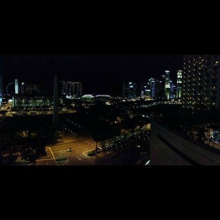 Fairmont Singapore: Amazing night view