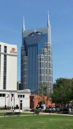 Omni Nashville Hotel: The Batman Building