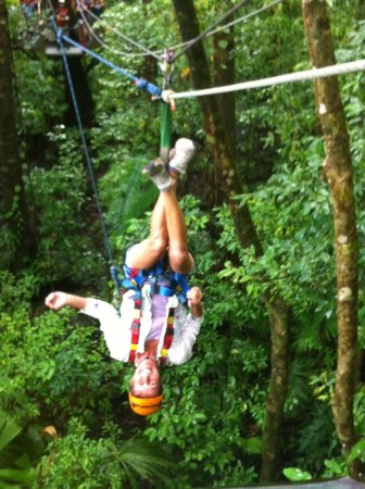 Jungle Surfing Canopy Tours: loving it!