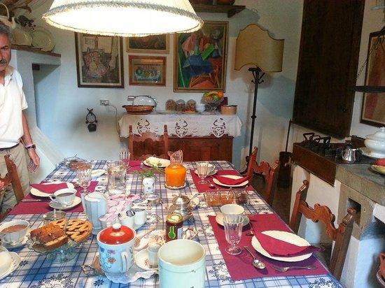 Villa Malavolta : breakfast