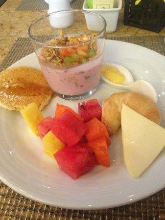 Hilton Bogota: Bogota Hilton Breakfast