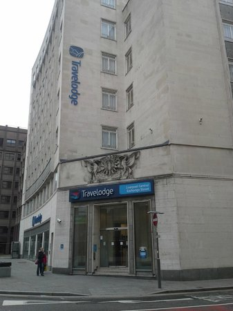 Travelodge Liverpool Central Exchange Street Hotel: Corner View
