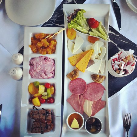 Boutique Saint Sophia Hotel : Well presented breakfast