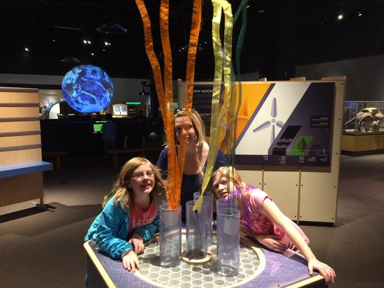 Oregon Museum of Science and Industry: Fun!