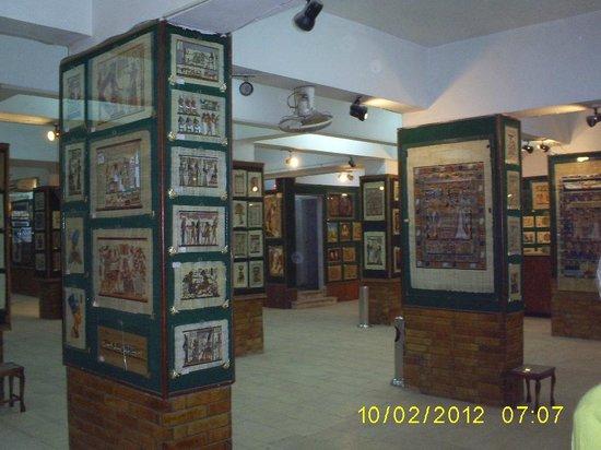 Papyrus Institute: Interior