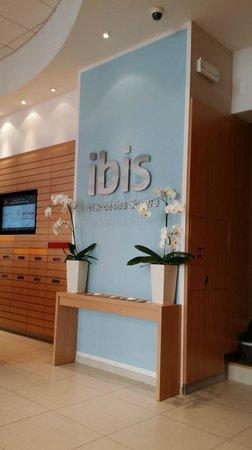 Ibis Praha Wenceslas Square: nice lobby