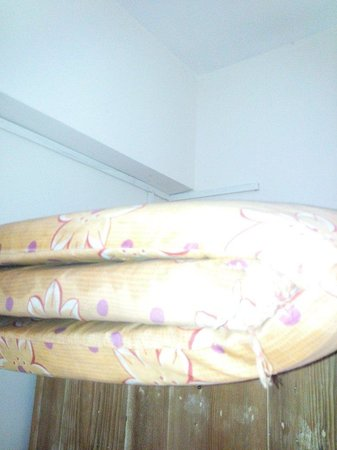 Sandy's Service Apartment: Old matresses!!! Terrible