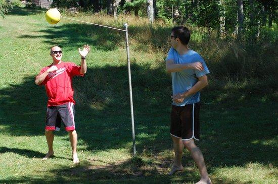Phelps, WI: Tetherball