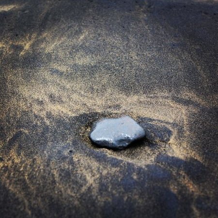 Playa de Las Canteras: Песок