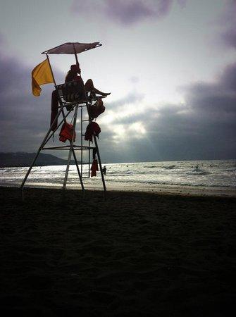 Playa de Las Canteras: Спасатель