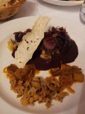 Ambrette Restaurant at Rye: Nuttin' but Mutton