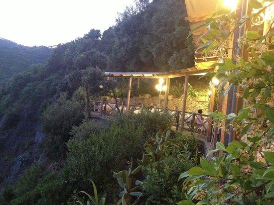 Hotel Porto Roca : Gorgeous setting