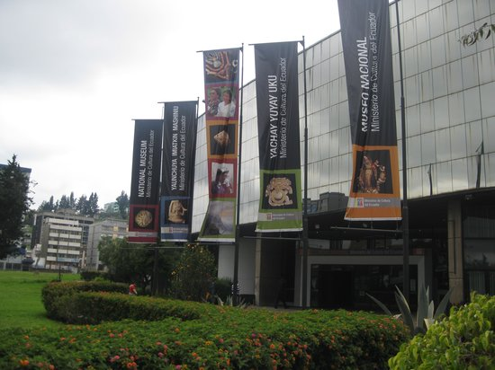 National Museum Quito : Museum Entrance