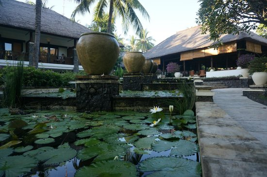 Spa Village Resort Tembok Bali: tuinzicht