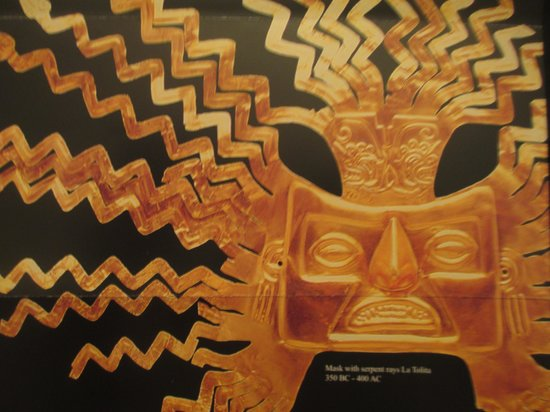 National Museum Quito : Gold Mask