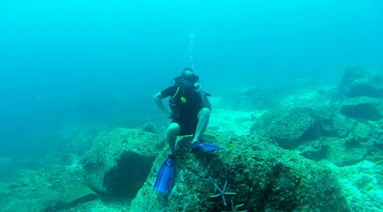 Heart & Soul Divers : The Thinker at Bay 2 (Boulders)