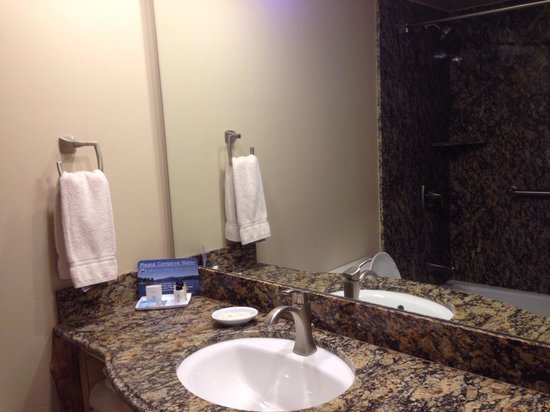 Marina Resort: Clean bathroom.