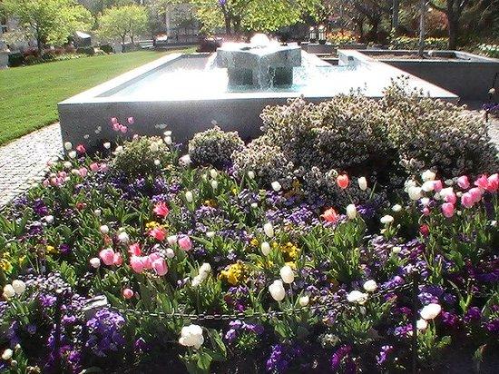 Temple Square : Gardens
