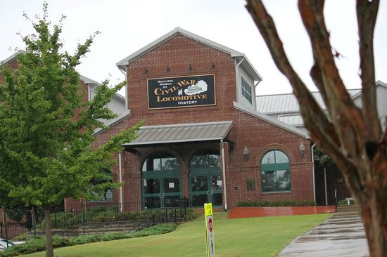 Southern Museum of Civil War and Locomotive History: Museum Entrance