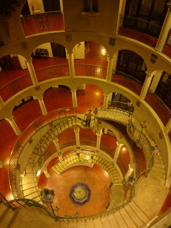 The Mission Inn Hotel and Spa: The Rotunda at night