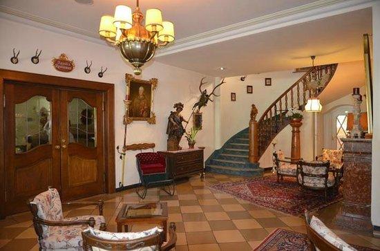 Reindl's Partenkirchner Hof : Reception area
