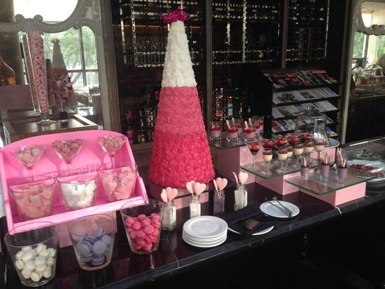 Pink Tea at Sofitel Saigon Plaza...