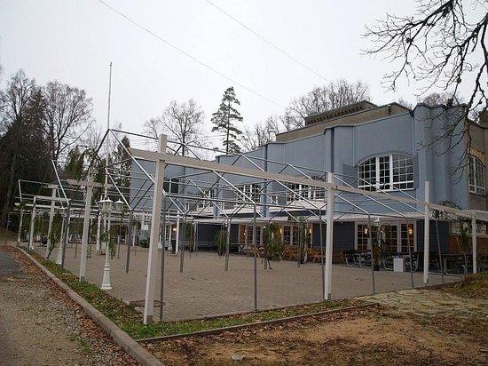Nelijarve Holiday Centre: ресторан и зона отдыха