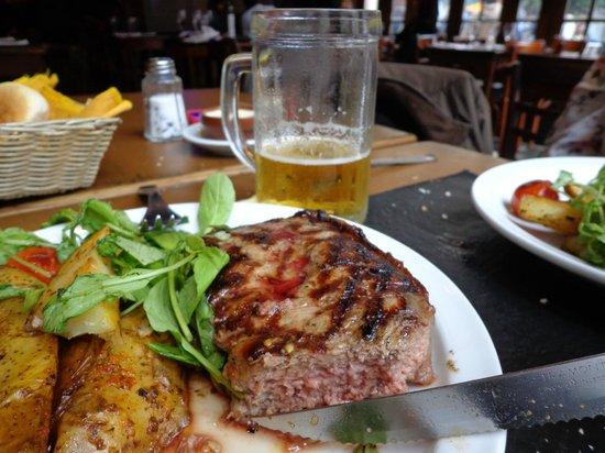 "Bar Seddon: Bife de Chorizo ""muy jugoso"" - contra filé muito especial."