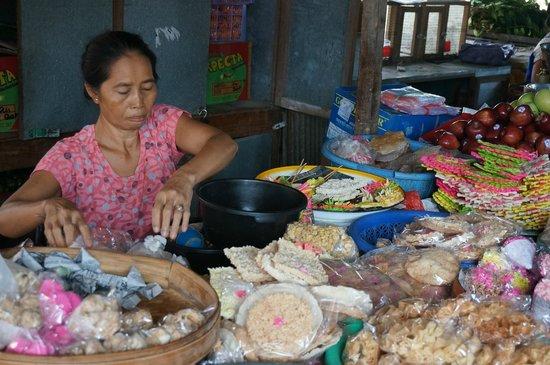 The Damai: plaatselijke markt